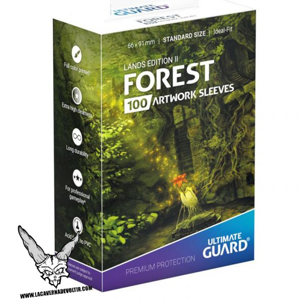 Fundas Lands Edition II Bosque La Caverna de Voltir 2