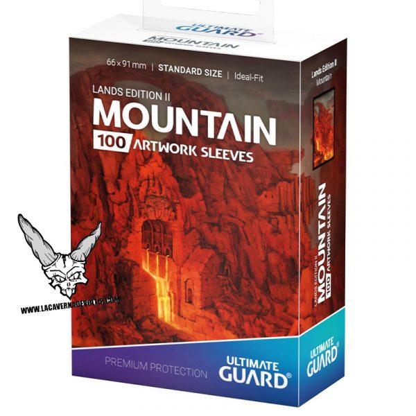 Fundas Lands Edition II Mountain La Caverna de Voltir
