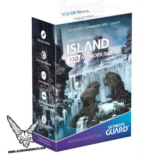 Fundas-Lands-Edition-II-isla-2-La-Caverna-de-Voltir