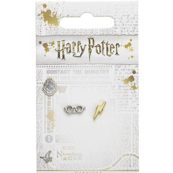 Harry-Potter-Pendientes-Rayo-y-Gafas-2-La-Caverna-de-Voltir