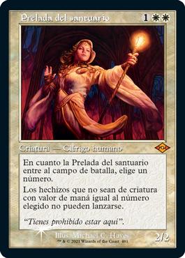 Prelada del Santuario - Horizaontes de Modern 2 - Magic the gathering - La Caverna de Voltir