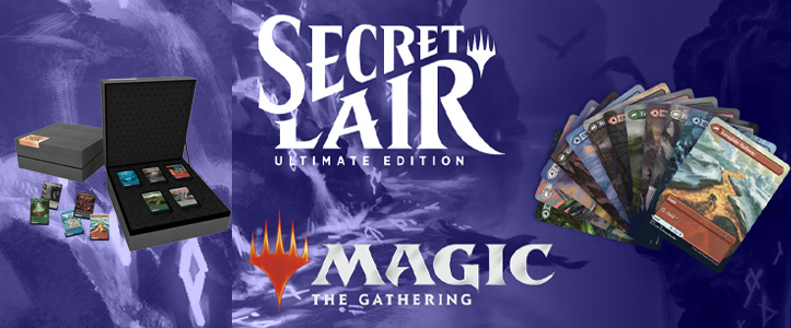 Secret Lair Ultimate edition 2 - Magic the Gathering- La caverna de Voltir