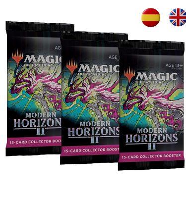 Sobres Coleccionista Horizontes de Modern 2 (español - inglés) - Magic the Gathering - La Caverna de Voltir