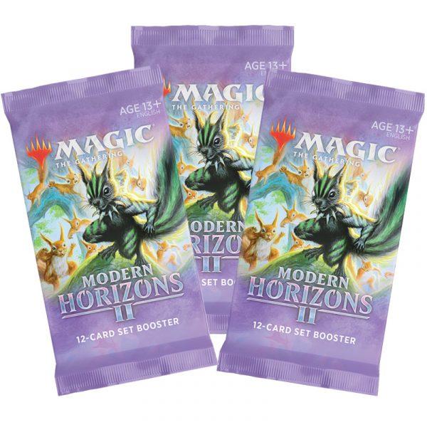 Horizontes de Modern 2 3 sobres de edición. Magic the gathering La Caverna de Voltir