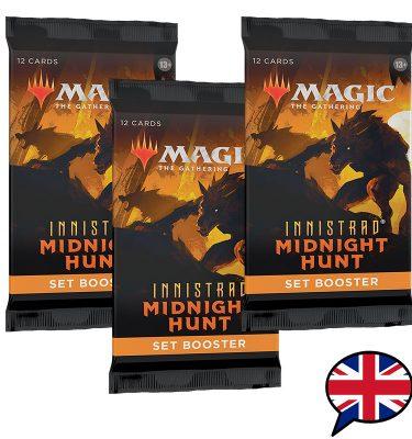 3 sobres edición set booster innistrad midnight hunt