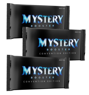 3 Sobres Convention Edition de Mystery Booster Magic the Gathering