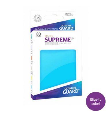 Fundas matte supreme sleeves standard size