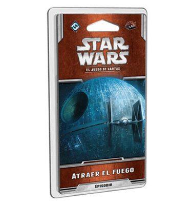 Star Wars LCG - Atraer el Fuego - Juego de Cartas