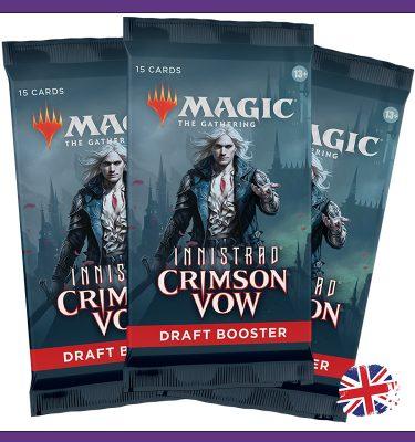 3 Draft Booster Innistrad Crimson Vow