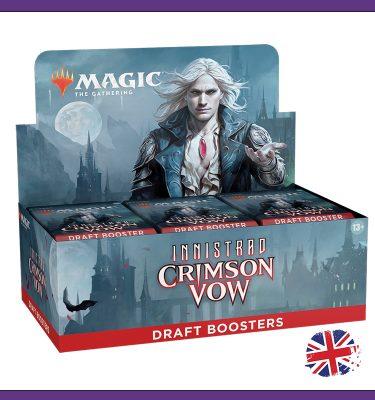 Caja sobres Draft Innistrad Crimson Vow ING