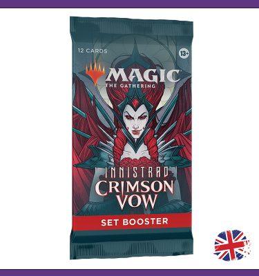 Set Booster Crimson Vow MtG La Caverna de Voltir