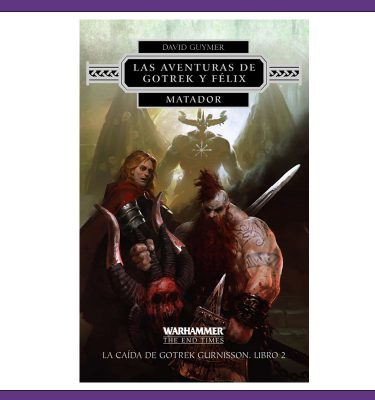Las aventuras de Gotrek y Felix - Matador - La Caverna de Voltir